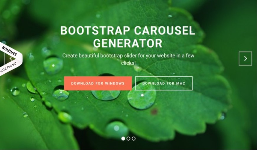 Responsive Carousel Bootstrap